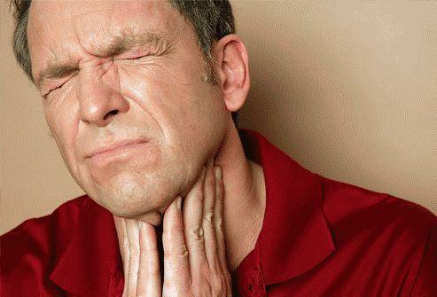 Чим зняти роздратування в горлі?