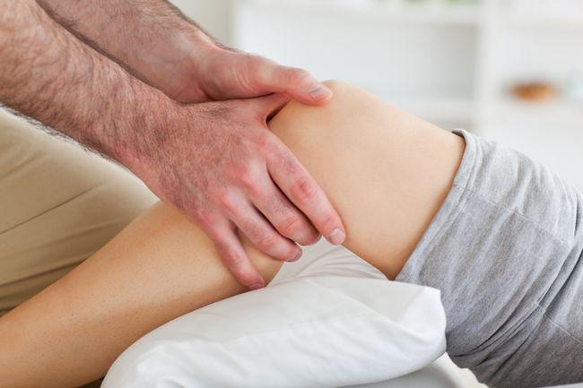 Травма коліна при падінні
