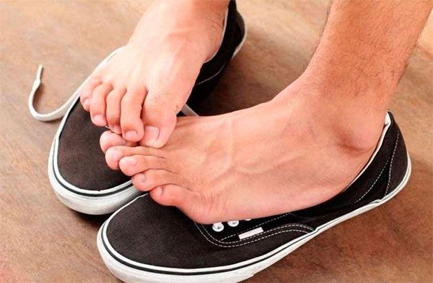 Як позбутися від запаху ніг народними засобами