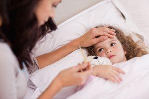 Підвищення температури тіла у дитини