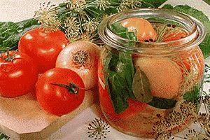 Стерилізація банок при консервуванні продуктів