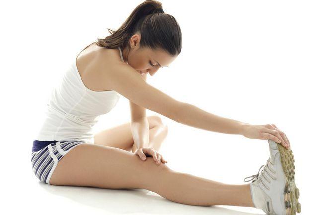Вправи для розробки колінного суглоба