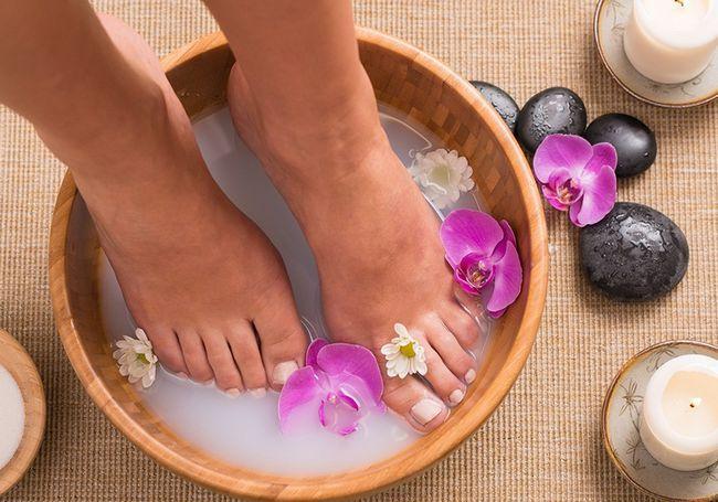 Ванночки для здоров`я і краси ніг